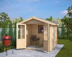 Kleines Holz-Gartenhaus Anita S