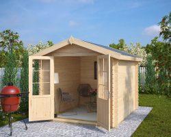Holz Gartenhaus mit Doppeltür