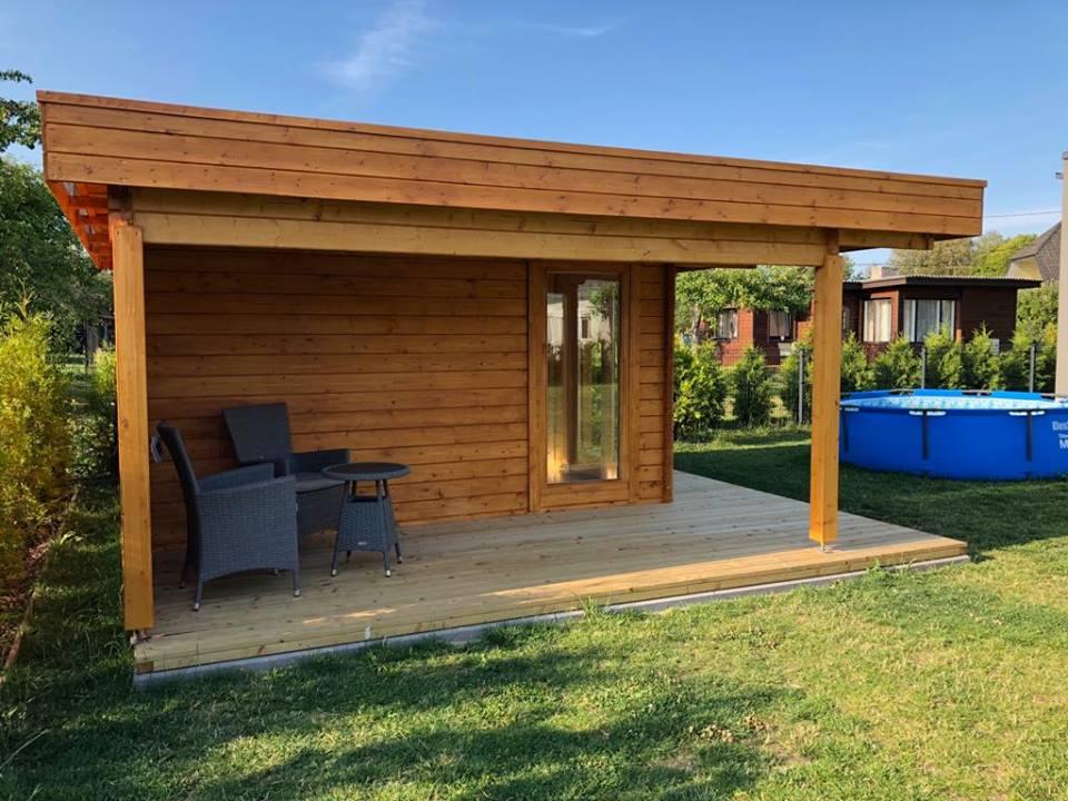 Gartenhaus Hansa Lounge 1