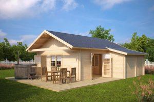 Holz-Gartenhaus Dallas