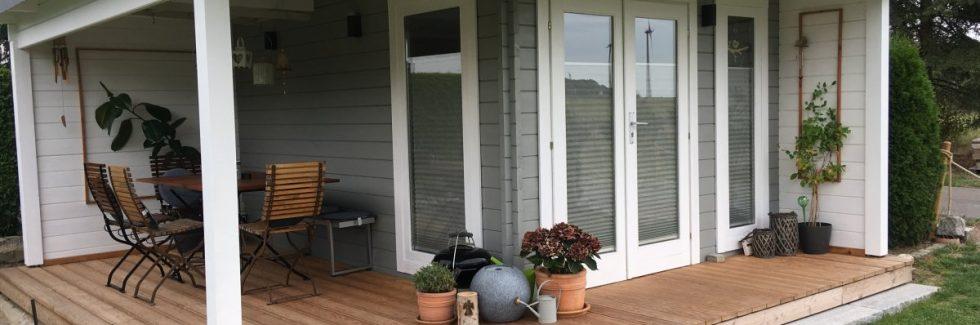Modernes Gartenhaus mit Terrasse Hansa Lounge2
