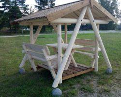 Swinging sailors table 6-seater