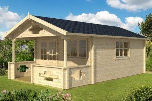 Gartenhaus mit Sauna Sommerland