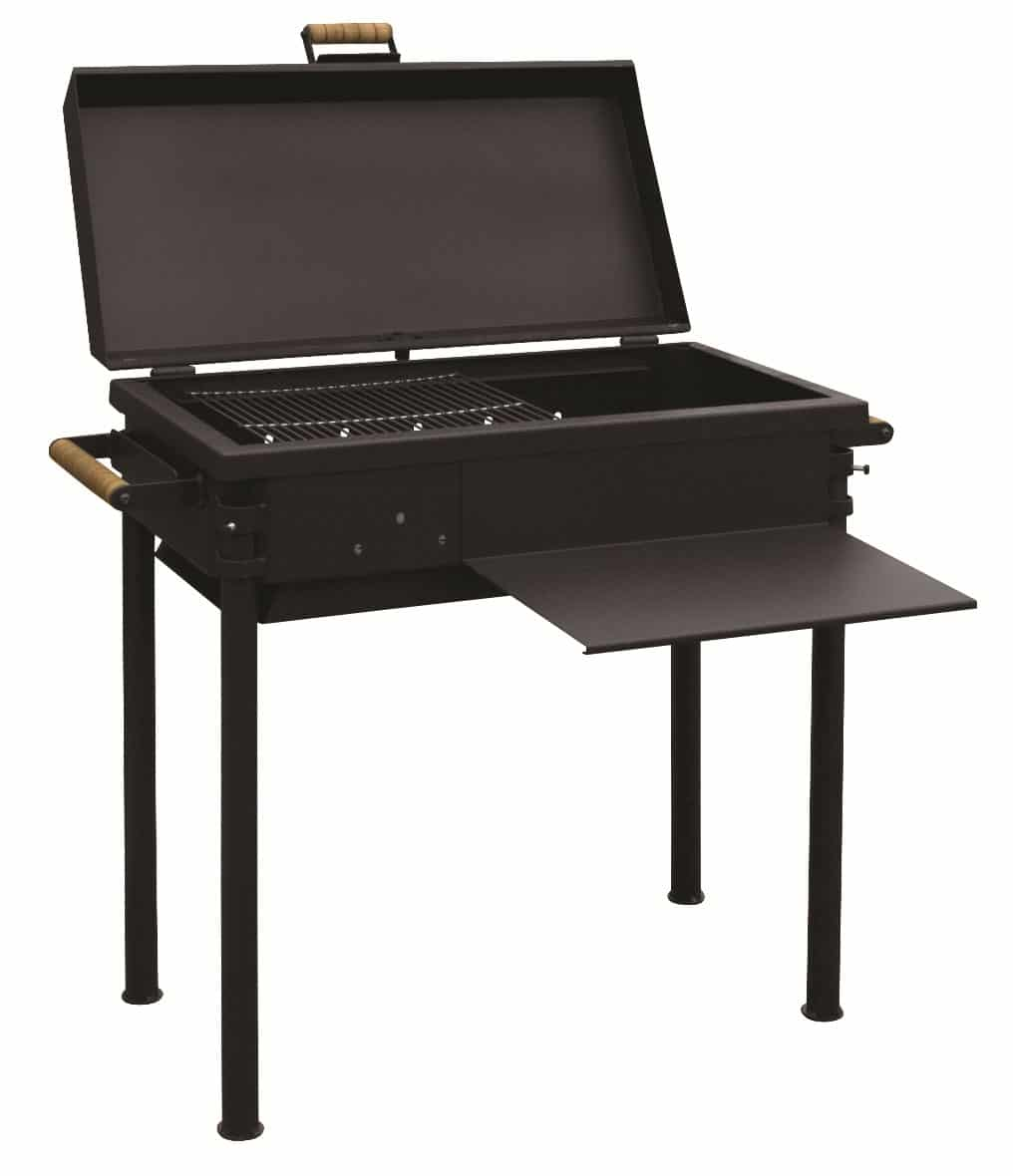 stoveman grill profi mit deckel hansagarten24. Black Bedroom Furniture Sets. Home Design Ideas