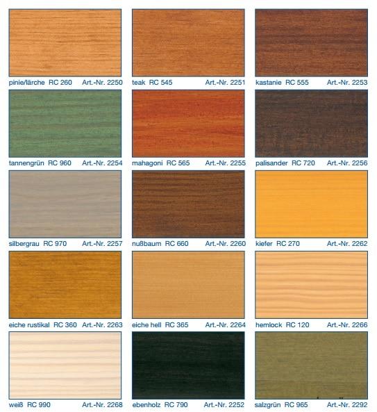 REMMERS HK LAZUR colors