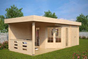 Gartenhaus-Gerätehaus mit Terrasse Paula