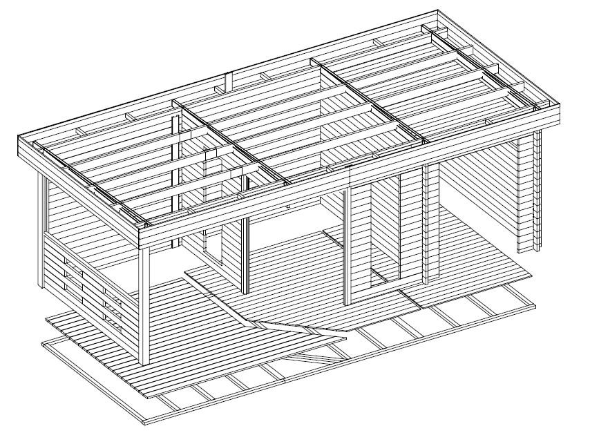 gartenhaus mit ger teschuppen und terrasse my blog. Black Bedroom Furniture Sets. Home Design Ideas