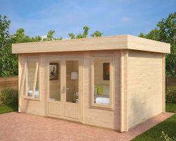 Holz-Gartenhaus Jacob D