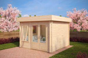 Holz Gartenhaus Lucas D