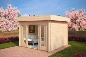 Gartenhaus mit Schiebetür Lucas E