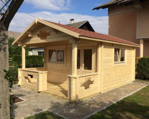 Gartenhaus mit Veranda Sommerland A