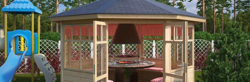 Der perfekte Grillpavillon für ihren Garten