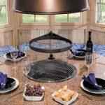 Runden tisch für Grillkota und Grillhütte