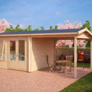 Gartenhaus mit Dachterrasse Nora D