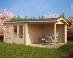 Gartenhaus mit Terrasse Nora D