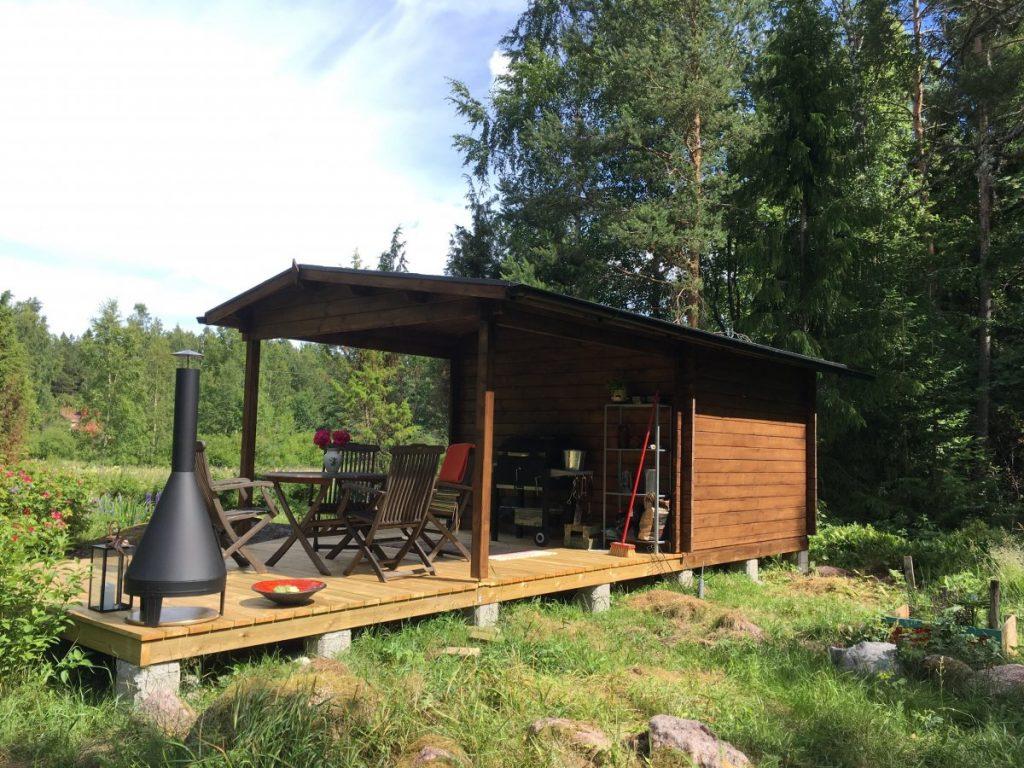 gartenhaus nora d als gästehaus und grillunterstand