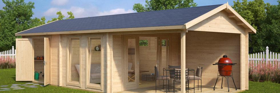 Gartenhaus mit 2 Räumen Robin