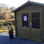 Kleines Holzhaus Anita 1