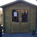 Kleines Holzhaus Anita 2