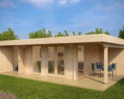 Gartenhäuser aus Holz & hölzerne Gartenhütten
