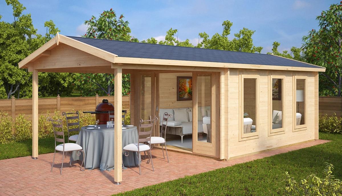 Gartenhaus mit Terrasse Blog