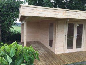Gartenhaus Modern Hansa Lounge XL