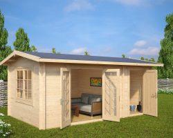 """Gartenhaus mit Geräteraum """"Super-Fred"""""""