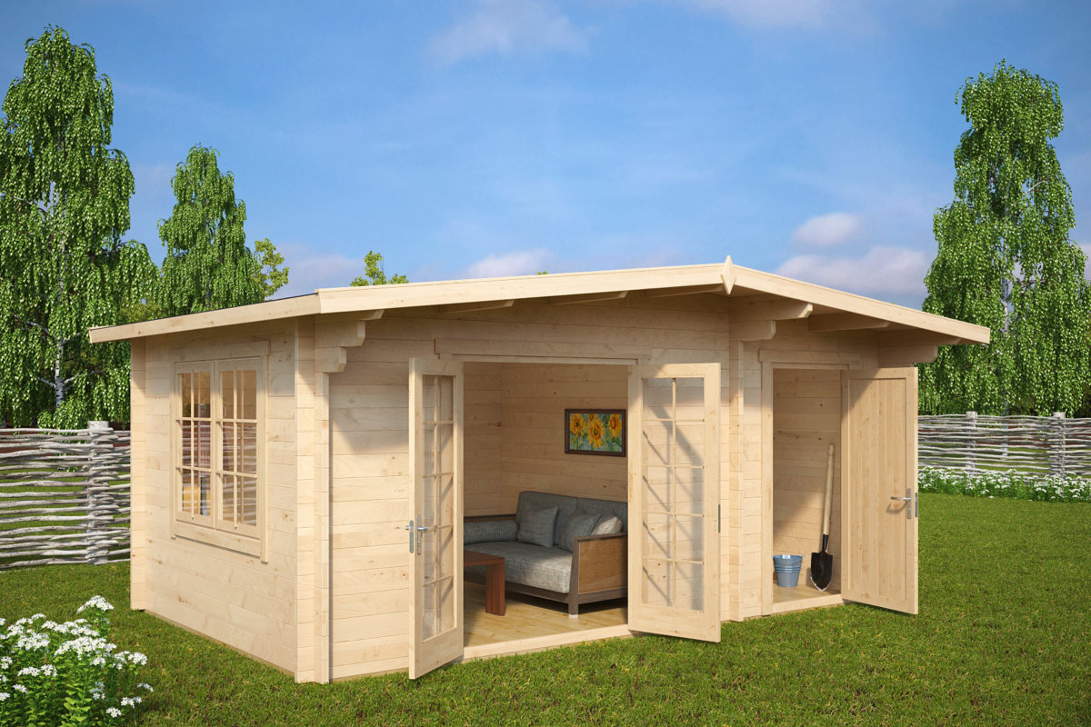 Storage Shed Dog House