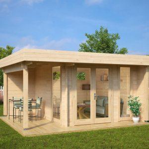 Gartenhaus Mini Hansa Lounge