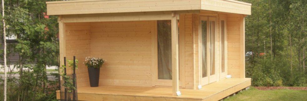 Gartenhaus Modern Mini Hansa Lounge