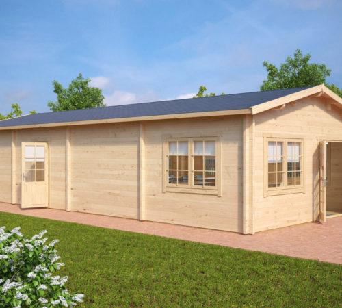 Holzhaus Eins: Ein Klassenzimmer Im Holzhaus 60m2 / 70mm / 12 X 5 M