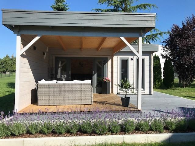 eck gartenhaus hansa als garten esszimmer und terrassen lounge hansagarten24. Black Bedroom Furniture Sets. Home Design Ideas