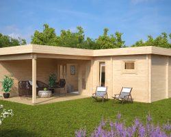 Gartenhaus mit Sauna A