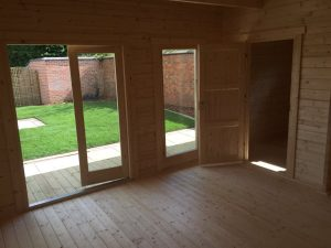 Gartensauna Hansa Sauna Lounge