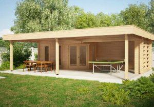 welches ist die einfachste methode ein h lzernes gartenhaus zu bauen. Black Bedroom Furniture Sets. Home Design Ideas