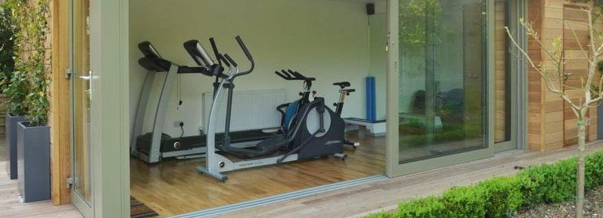 Ein privates Fitness-Studio im Gartenhaus – Ein Gewinn für Lifestyle und Fitness