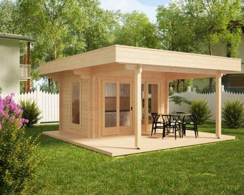 Outdoor-Küche mit großer Terrasse Remo 2
