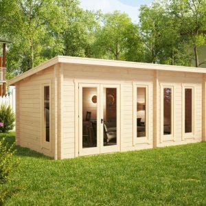Gartenhaus mit Pultdach Liam
