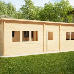 Ein Schlafzimmer Blockhaus Holiday J