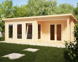 Gartenhaus mit Dusche und WC Malaga