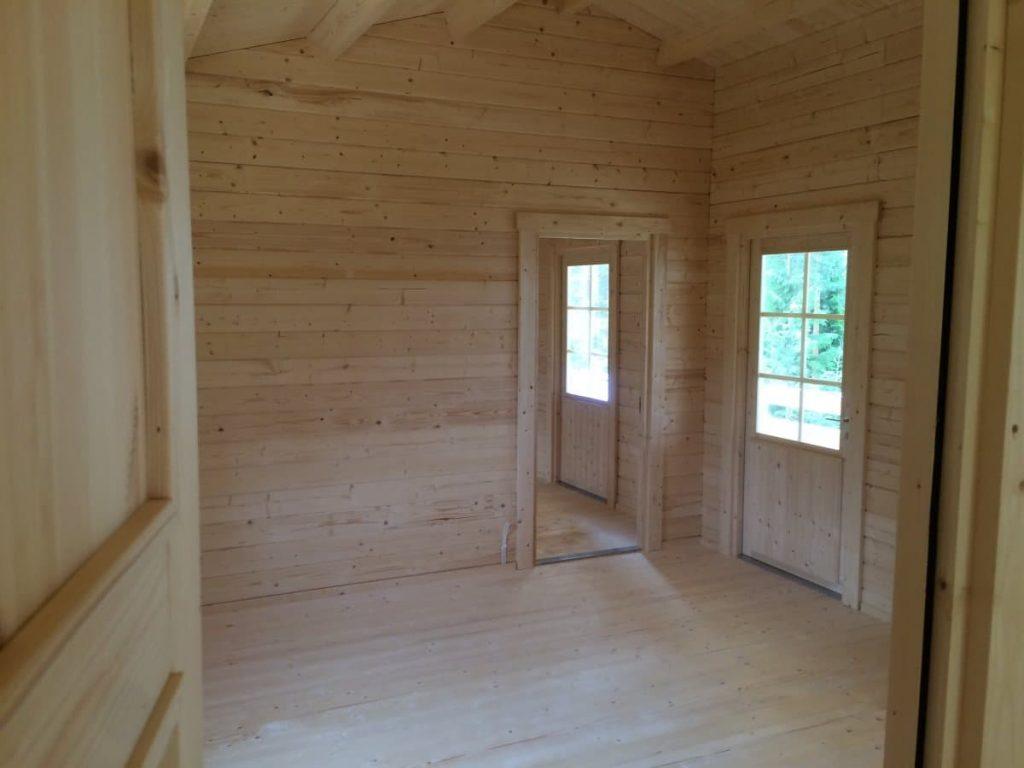 Sonderanfertigung: Gästehaus mit zwei Schlafzimmern