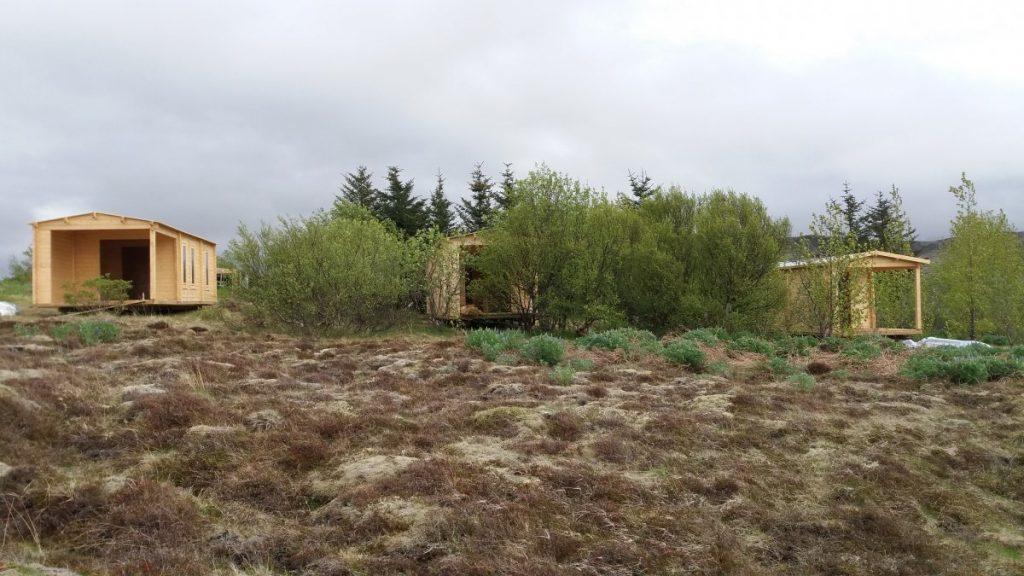 Unsere Holzhäuser als Ferienhaus in Island