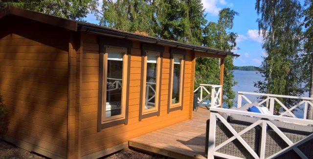 Es Handelt Sich Um Das Geringfügig Veränderte Gartenhaus Modell Mit Vordach  U201eEva Eu201c: ...