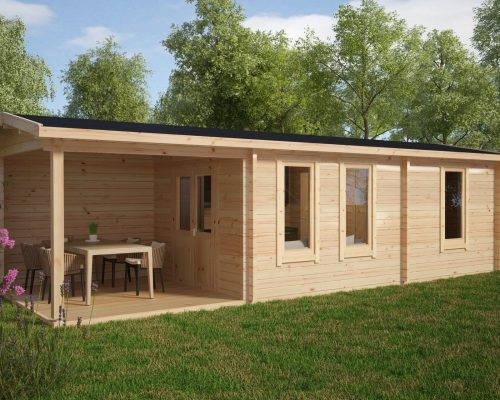 Holzhaus mit 1 Schlafzimmer Hansa Holiday Camping