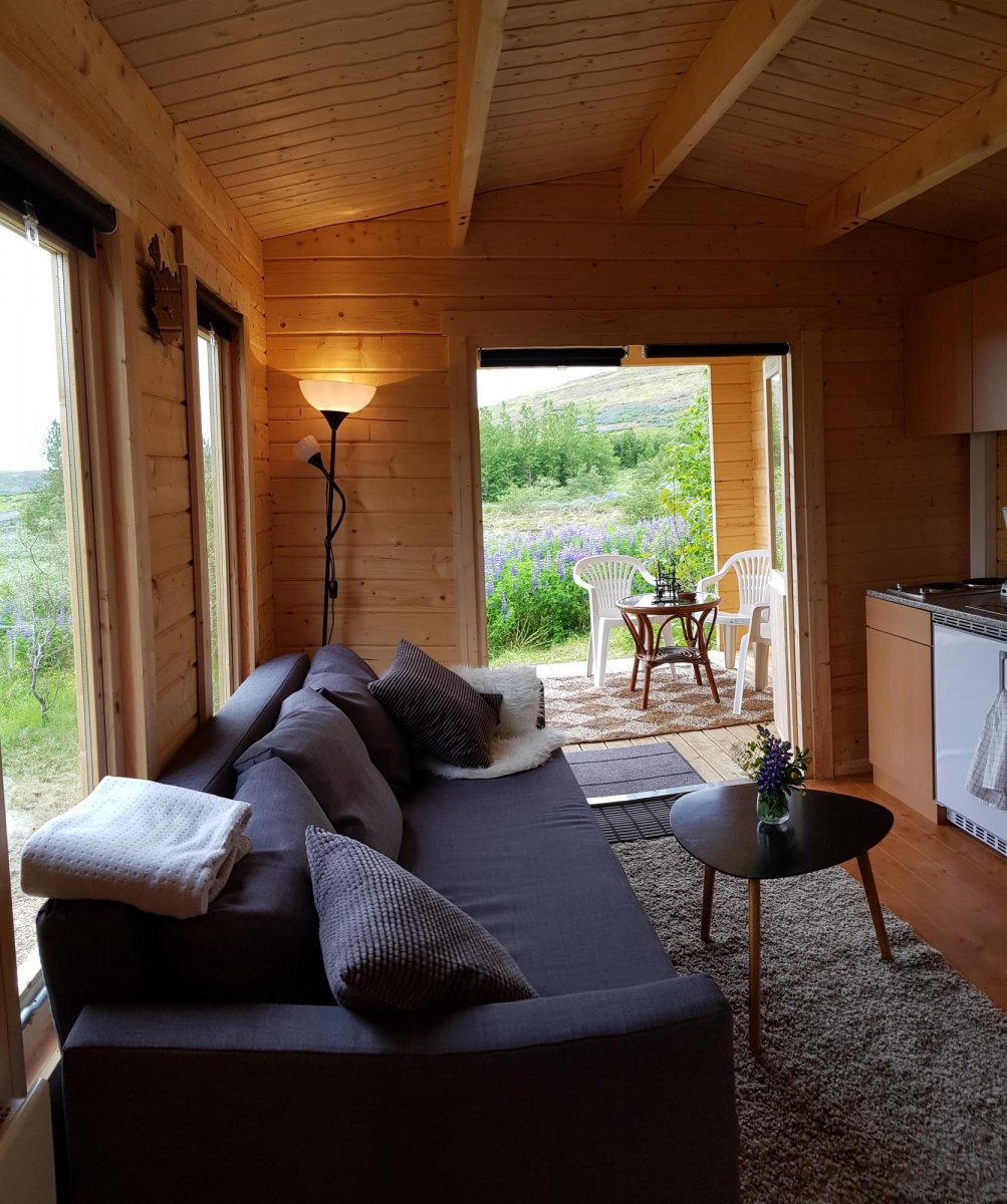 Holzhaus Hansa Holiday Camping 18m2 / 3 X 9 M / 70mm