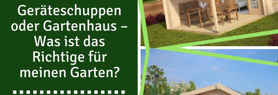 Falls Sie Noch Keinen Geräteschuppen Oder Gartenhaus Haben, Kommen Sie Bei  Einem Rückblick Auf Die Bisherige Gartensaison Vielleicht Darauf, ...