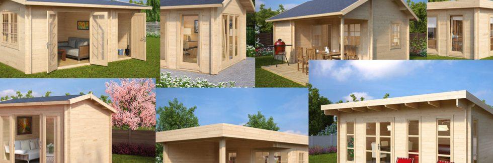 Gartenhäuser aus Holz – Welche Arten und Unterschiede gibt es?