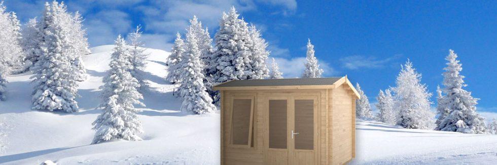 Garten und Gartenhaus – Vorbereitung auf den Winter