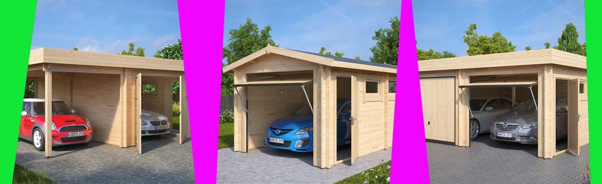 Eine Garage für den Winter