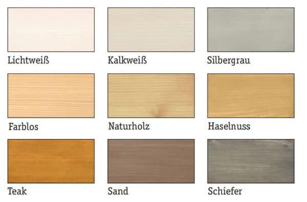 Holzfarben und Holzschutzmittel für den Außen- und Innenbereich